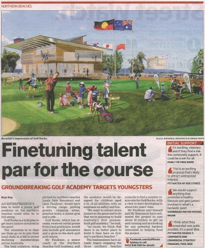 Archisoul Architects, Sydney, Northern Beaches, Junior Golf