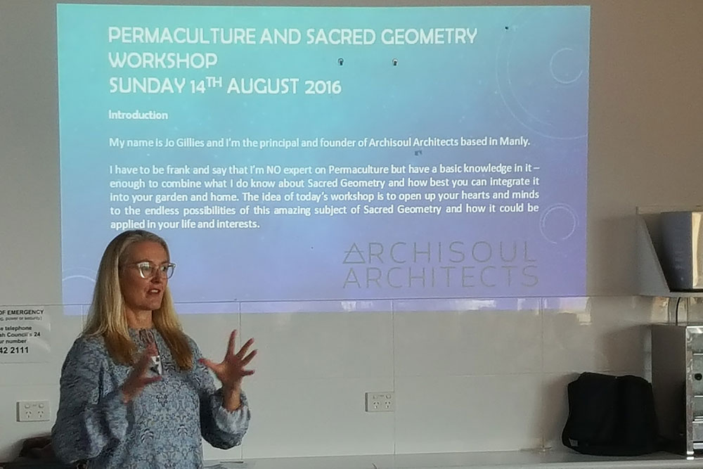 Permaculture and Sacred Geometry Workshop, Archisoul Architects