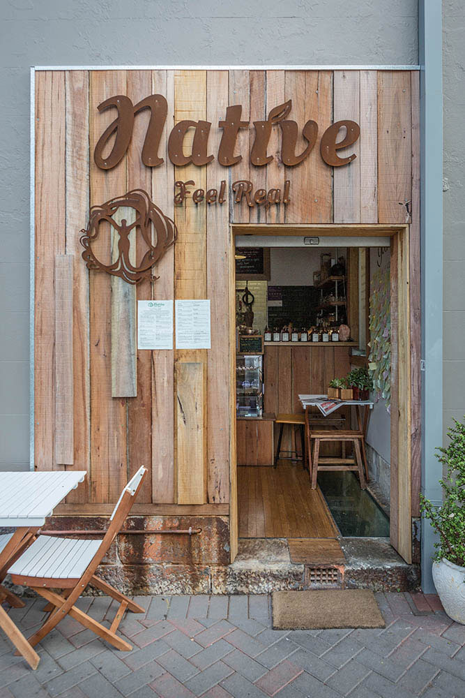 Manly, Native Real Feel Cafe, Archisoul, Sydney Architects