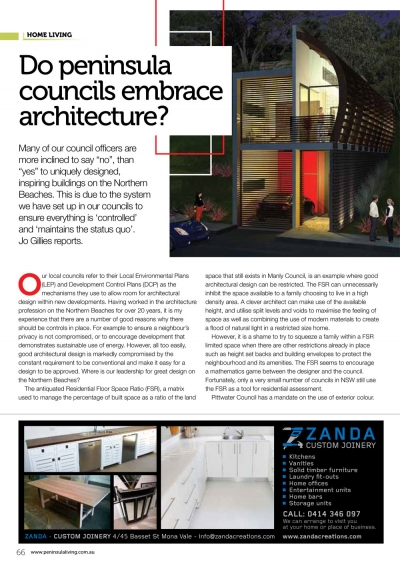 Archisoul Architects, Sydney, Northern Beaches, Peninsula Living